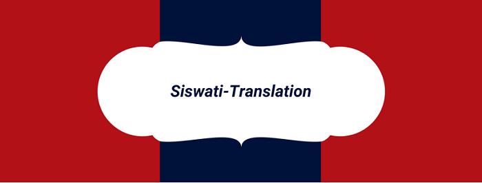 Siswati-Translation