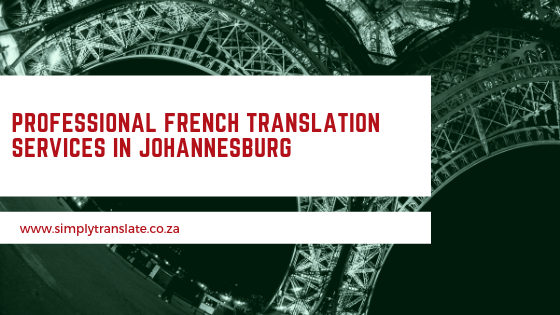 Professional French Translation Services In Johannesburg